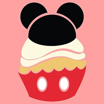 Cupcake Characters: Mickey by pondlifeforme