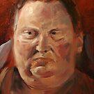 beginning of a portrait by harleym