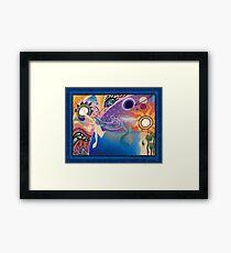Reaching Beyond The Stars Framed Print