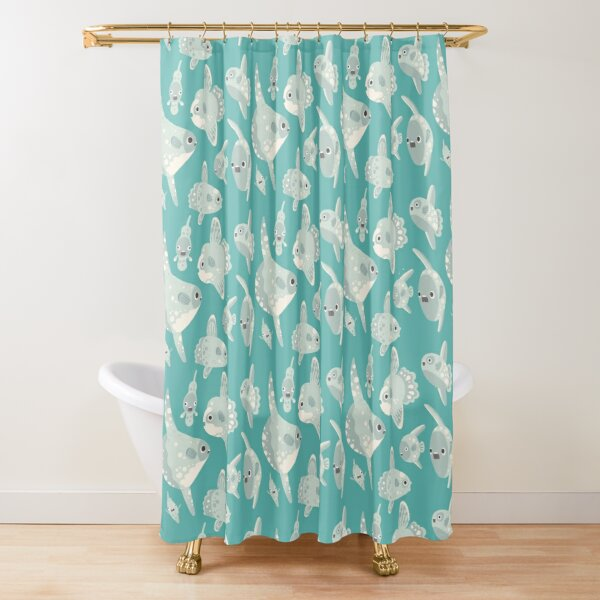 Mola Mola Shower Curtain