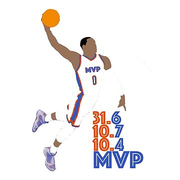Russell Westbrook MVP by bulldog2171