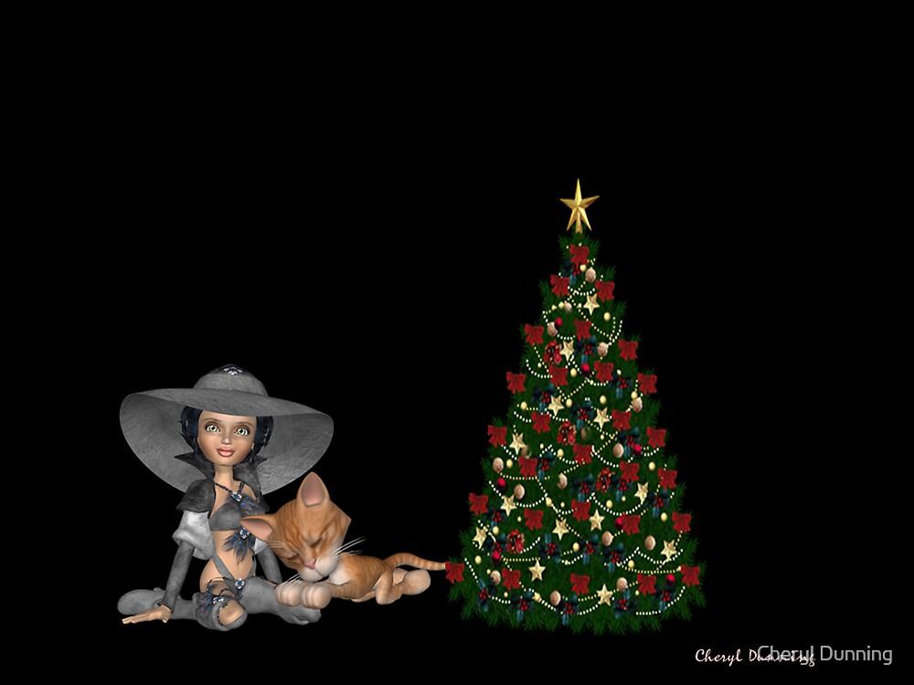 waiting for santa by Cheryl Dunning