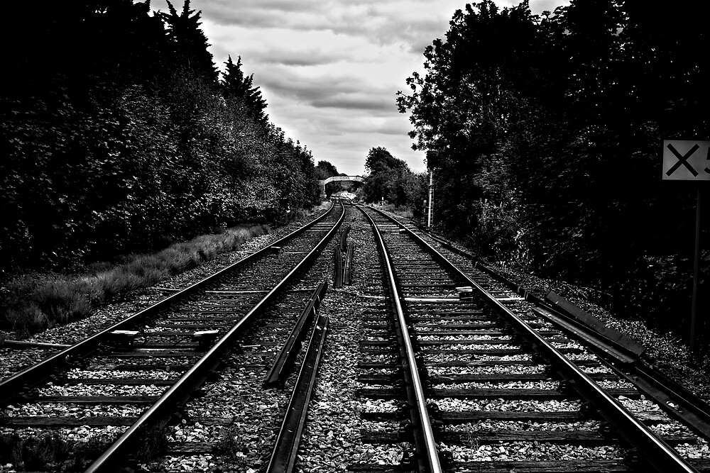 Wrong side of the tracks  by Neil Hastings