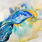 Mussel Shell Abstract by Evelyn Flint