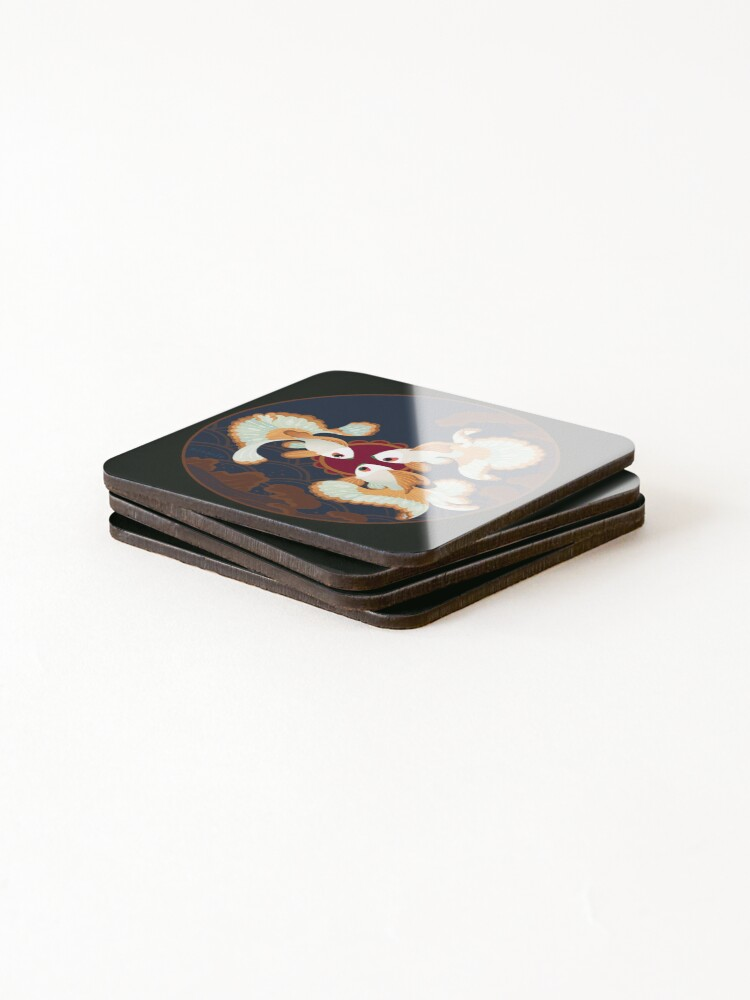 Alternate view of Three Tosakins Coasters (Set of 4)