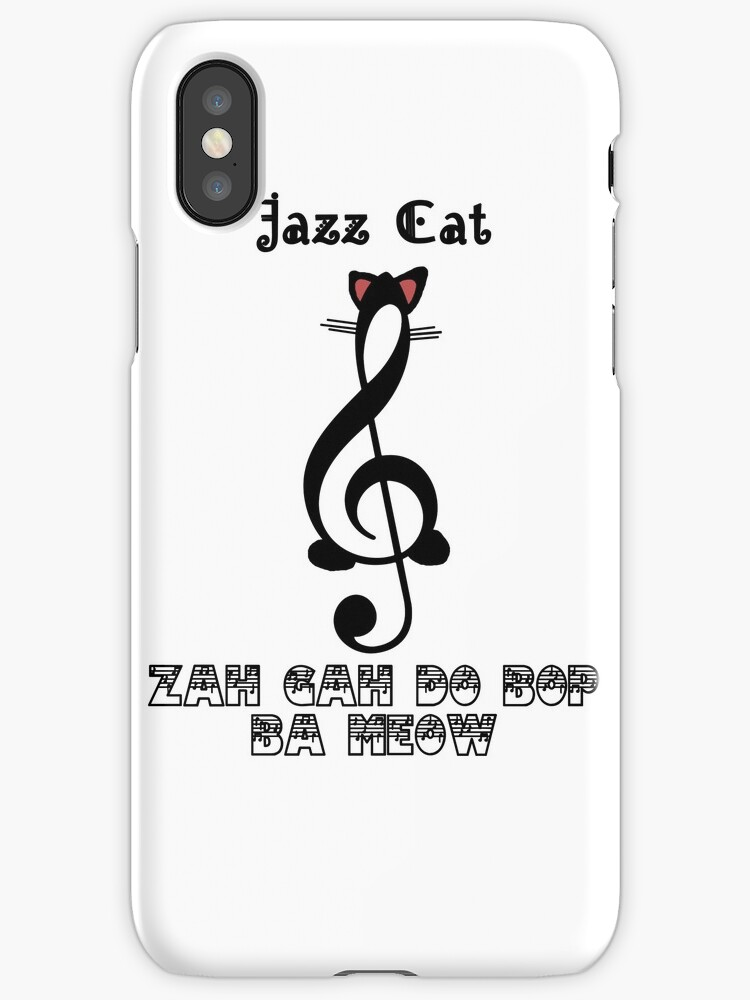 The Jazz Cat Sings by Maxdoggy