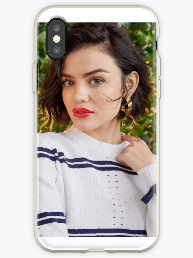 the best attitude f5e91 780c5 'Lucy Hale' iPhone Case by Valesa1830