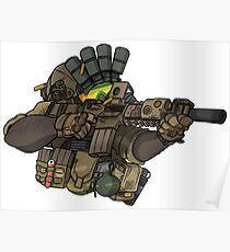 Navy Seal SOF Operator - Torso Poster