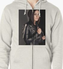 Demi Lovato Zipped Hoodie
