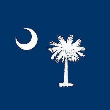 South Carolina Flag  by KZiegman
