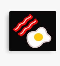 Bacon and egg Canvas Print