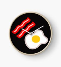 Bacon and egg Clock
