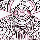 Red Eye Grafikdesign von shethatisnau