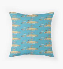 Melange de poisson deux Floor Pillow