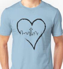 Heart of Seattle Unisex T-Shirt