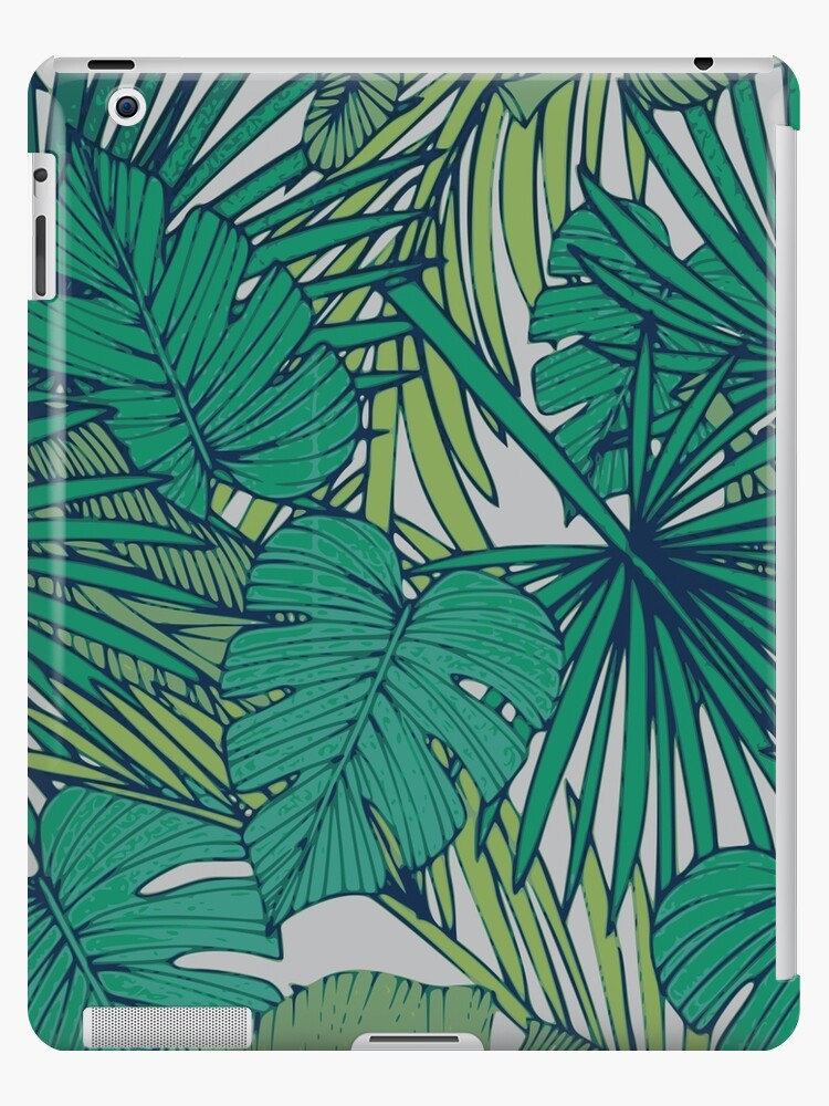 Tropical Palm Wallpaper Ipad Case Skin By Littlestamp Redbubble
