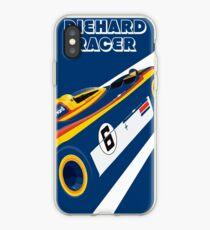 Diehard racer retro iPhone Case