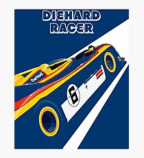 Diehard racer retro Photographic Print