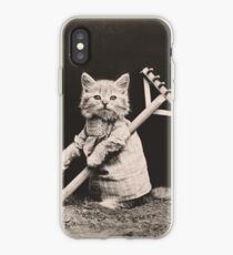 Farming kittens iPhone Case