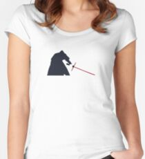 Star Wars Episode VII: The Force Awakens Women's Fitted Scoop T-Shirt