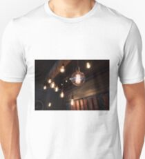 Brewpub Vintage Electric Bulbs Unisex T-Shirt