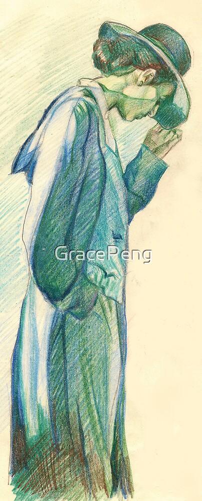 fashion illustration by GracePeng