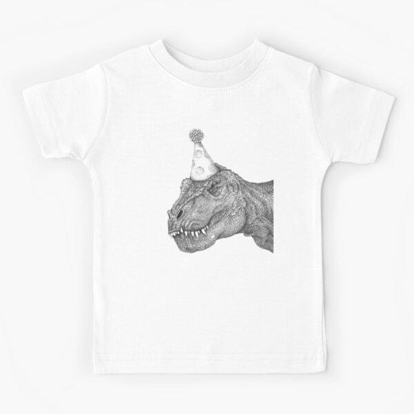 Party Dinosaur Kids T-Shirt