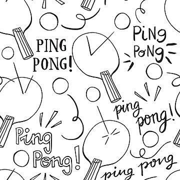 Let's play ping pong! by NatGonzalez