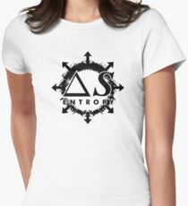 ENTROPY Logo T by The Doorway Effect Apparel Co. Women's Fitted T-Shirt