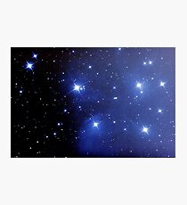 M45 pleiades seven sisters Photographic Print