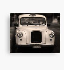 Taxi Canvas Print