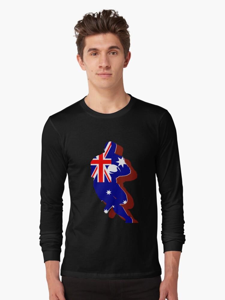 Rugger - Aussie by Mundy Hackett