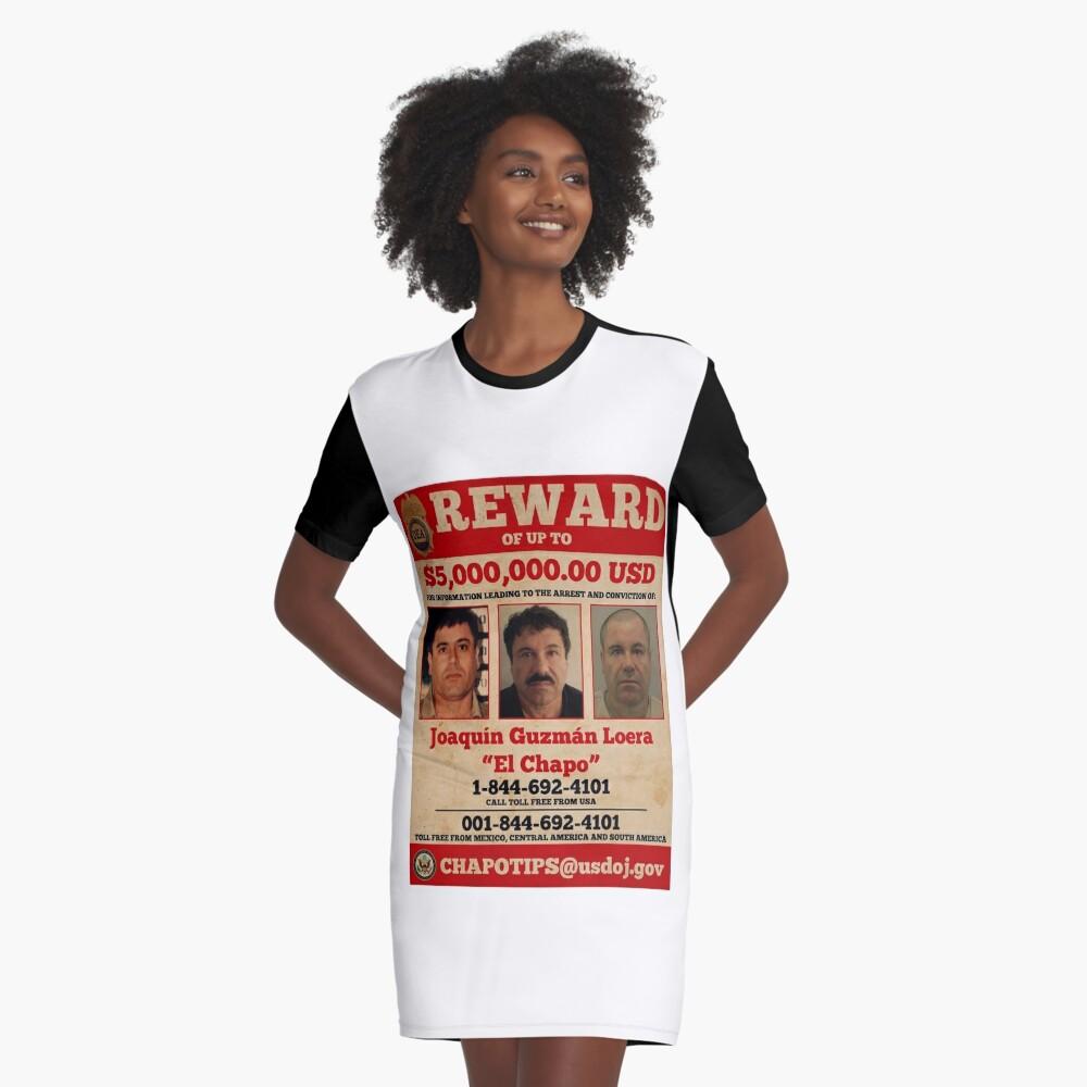 El Chapo wollte T-Shirt Kleid