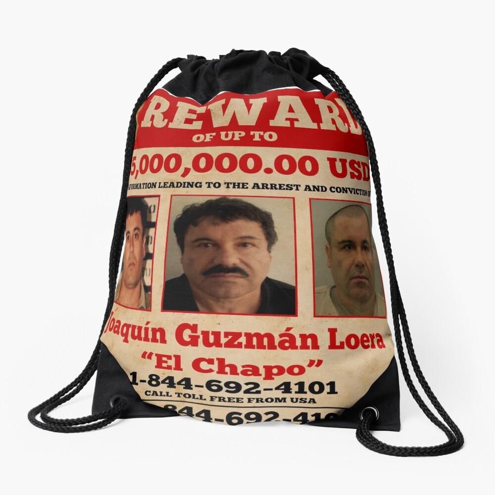 El Chapo wollte Rucksackbeutel