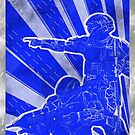 FC BLUE Army Propaganda (Weathered) by Maxdoggy