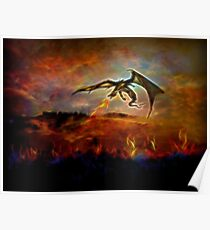 Dracarys - Burn them all! Poster