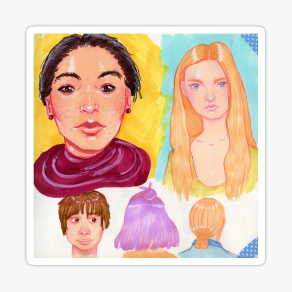 Composition 1 Sticker