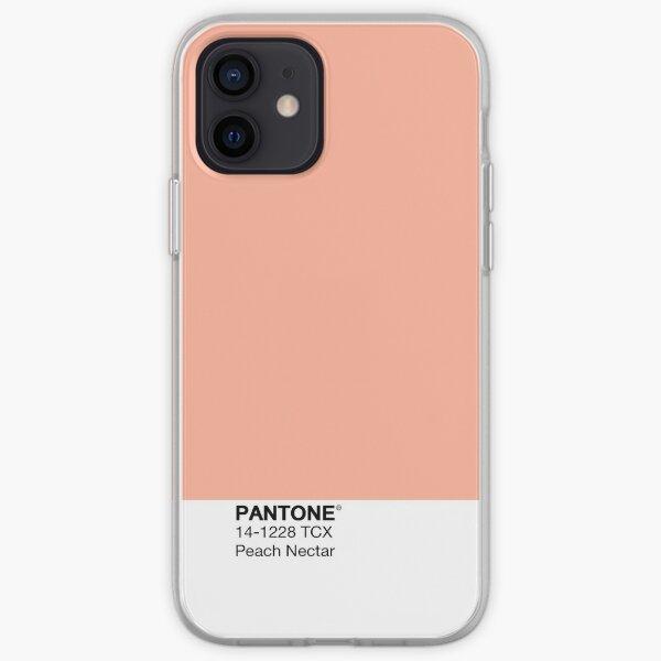 Pantone - Peach Nectar iPhone Soft Case