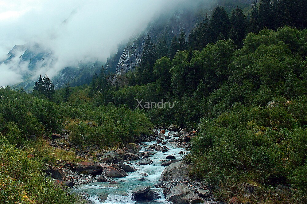 Cloud Cover by Xandru
