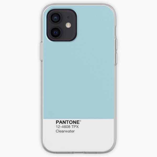 Pantone - Clearwater iPhone Soft Case