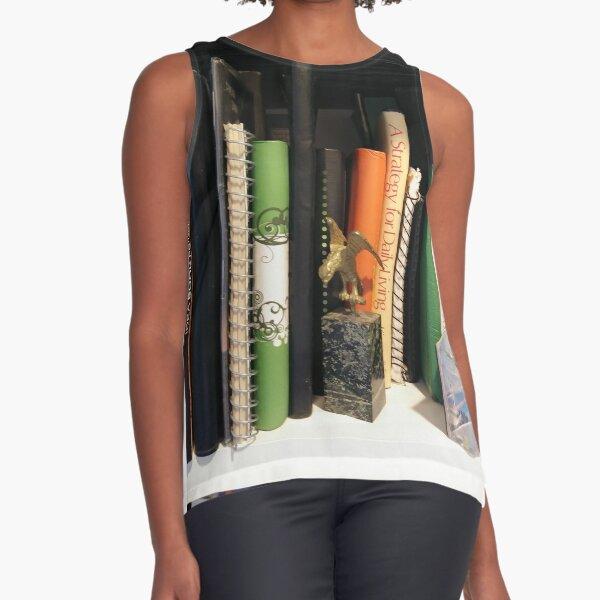 Books Sleeveless Top