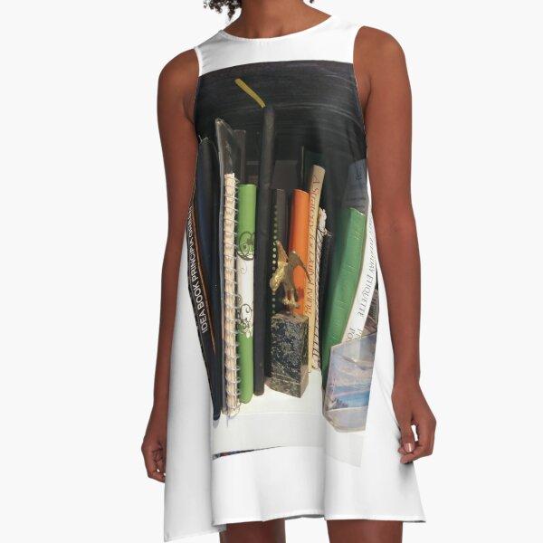 Books A-Line Dress