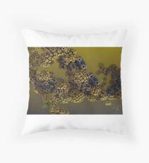 Alien pollen Floor Pillow