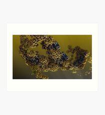 Alien pollen Art Print