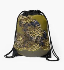 Alien pollen Drawstring Bag