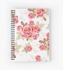 Blushing Pink Spiral Notebook
