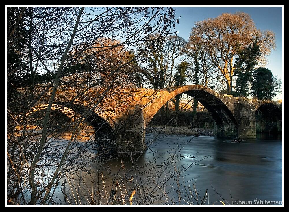 Cromwell's bridge over the river Hodder by Shaun Whiteman