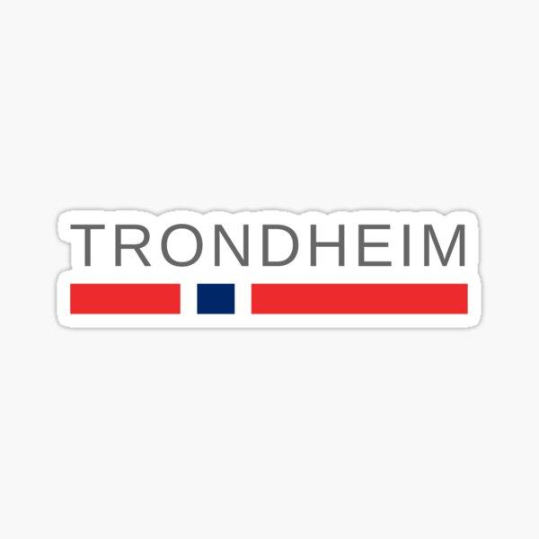 Trondheim Norway Sticker