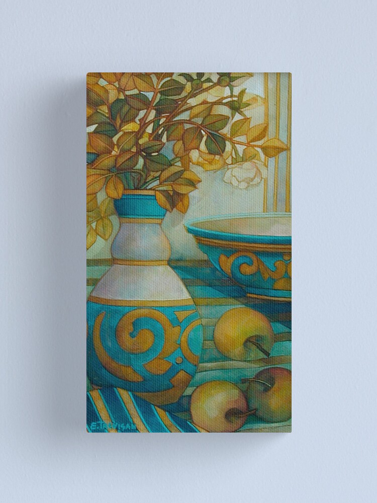Alternate view of still life turquoise Canvas Print