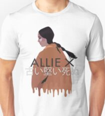 Allie X old habits die hard Unisex T-Shirt